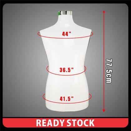 PlatMart - Men Fashion Half Mannequin with Chome Steel Stand 30-036