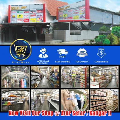 PlatMart - [READY STOCK] 5 pcs Hanger Waterfall Besi | Square bar hook hanger divider balls (Chrome)