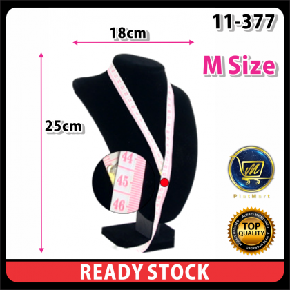PlatMart - [READY STOCK] Necklace Pendant Chest Display Holder Stand Jewelry Show Case Rack Craft