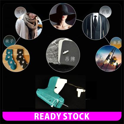 PlatMart - [READY STOCK] Clothes Garment Price Label Tagging Tag Gun