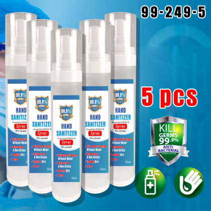 PlatMart - [READY STOCK] HAND SANITIZER SPRAY,  75% ETHANOL ALCOHOL 50 ml, (Not For EAST Malaysia)