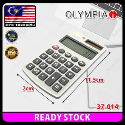 PlatMart - [READY STOCK] OLYMPIA Solar Energy Calculator 12 Digits Big Display