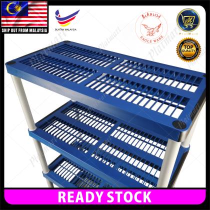 PlatMart - [READY STOCK] EAGLE WARE 3/4/5 Tiers DIY Storage Rack 07-224,07-225,07-226