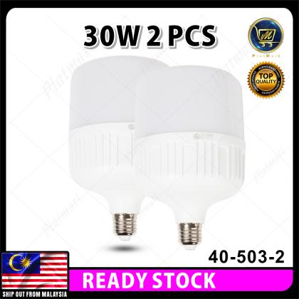 PlatMart - [READY STOCK] E27 LED Light Bulbs 30W LED Bulb Energy Saving Lamp Down Light Bulb 40-503